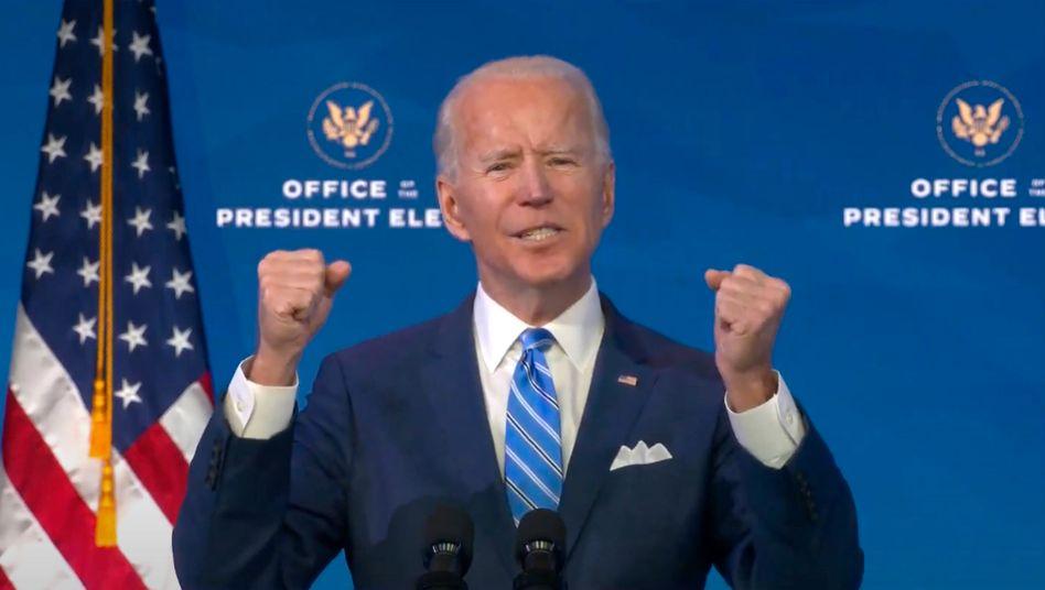 """""""Die Gesundheit unserer Nation steht auf dem Spiel"""": Joe Biden nimmt zur Stützung der US-Wirtschaft viel Geld in die Hand"""