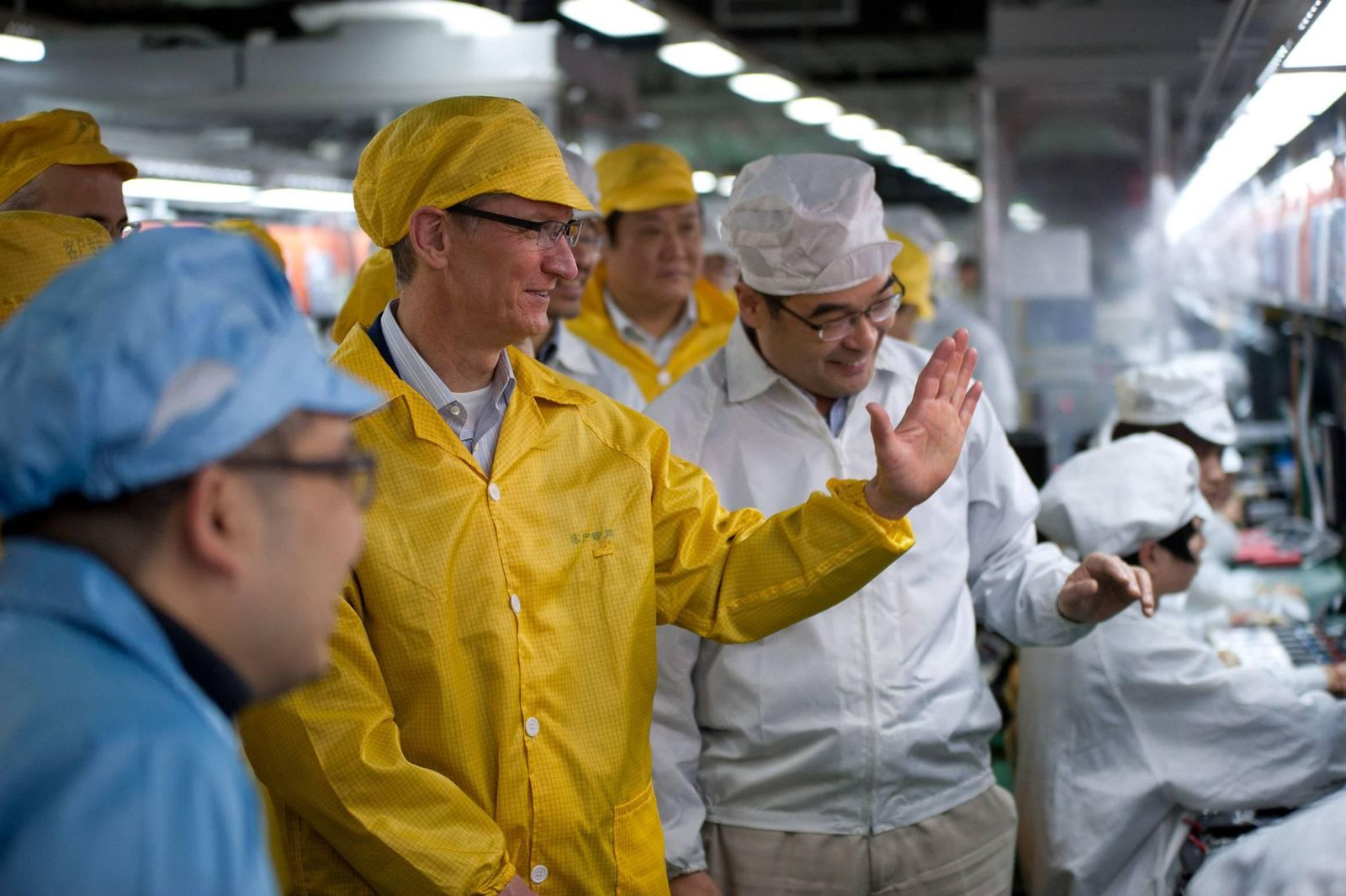 Tim Cook / iPhone Produktion