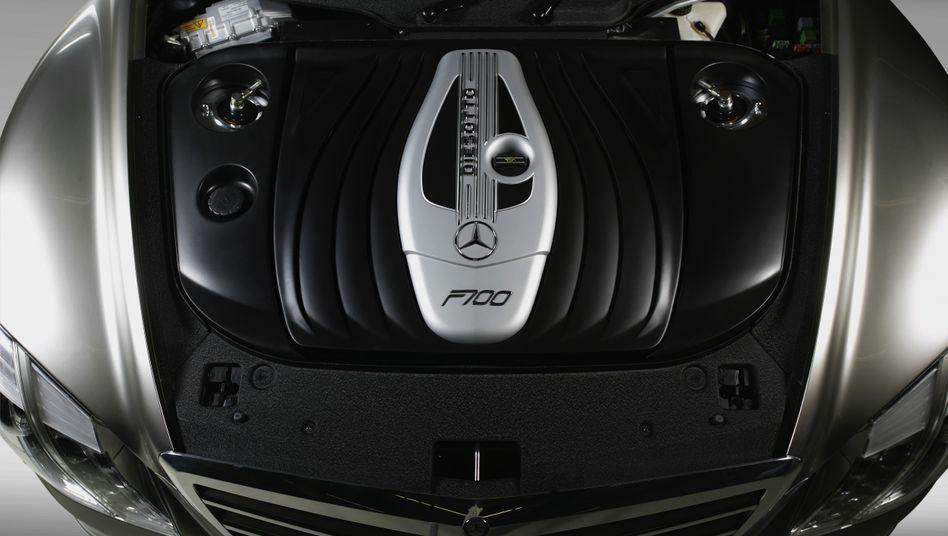 Diesotto von Mercedes: Schon 2007 stellte der Stuttgarter Hersteller einen Vierzylinder mit 1,8 Litern Hubraum und 175 kW/238 PS vor