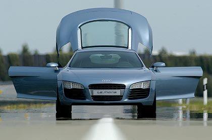 Audi Le Mans: Wesentliche Teile des über 600 PS starken Boliden sind baugleich mit dem Konzern-Bruder Lamborghini Gallardo.