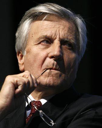 Nachdenklich: EZB-Chef Trichet tastet den Leitzins nicht an, obwohl die Inflationsrate längst über der kritischen Marke von 2 Prozent liegt