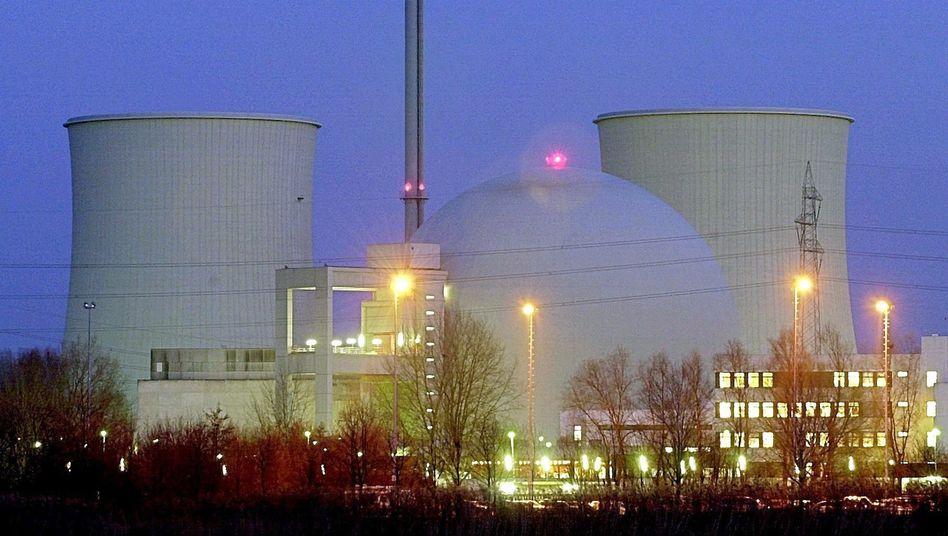 Atomkraftwerk Biblis: Beim Atomdeal der Bundesregierung soll auch etwas für die regenerativen Energien abfallen