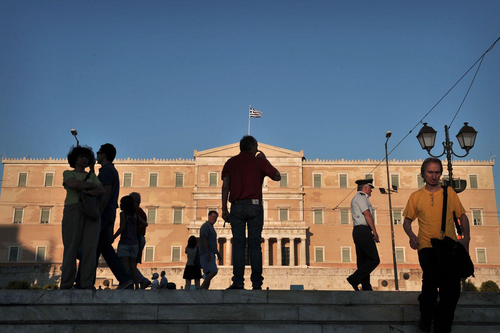 Griechenland / Koalitionskrise / Parliament