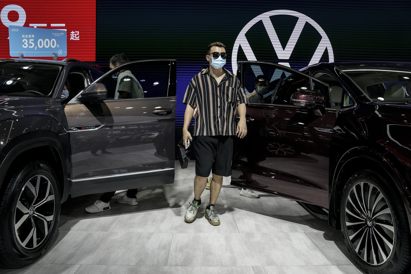 Auto Show Kicks Off In Wuhan Amid Global Pandemic