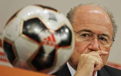 Es geht nicht nur um Fußball:Fifa-Präsident Blatter