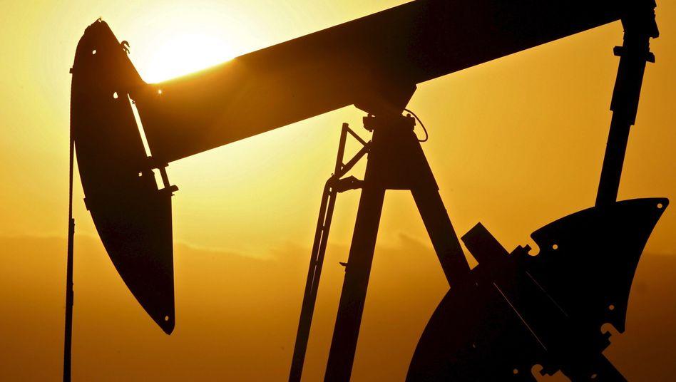 Ölpumpe: Der Ölpreis ist seit dem Hoch zu Wochenbeginn wieder deutlich gefallen