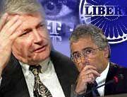 Verhandeln weiter: John Malone, Ron Sommer