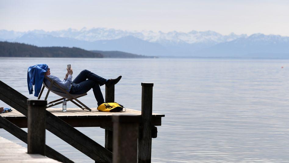 Reiche Gegend: Der Starnberger See in Bayern