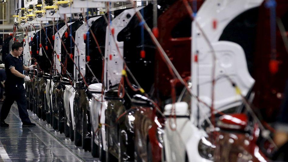 Mercedes-Produktion in Peking: BAIC will den Anteil am deutschen Partner Daimler auf rund 10 Prozent ausbauen