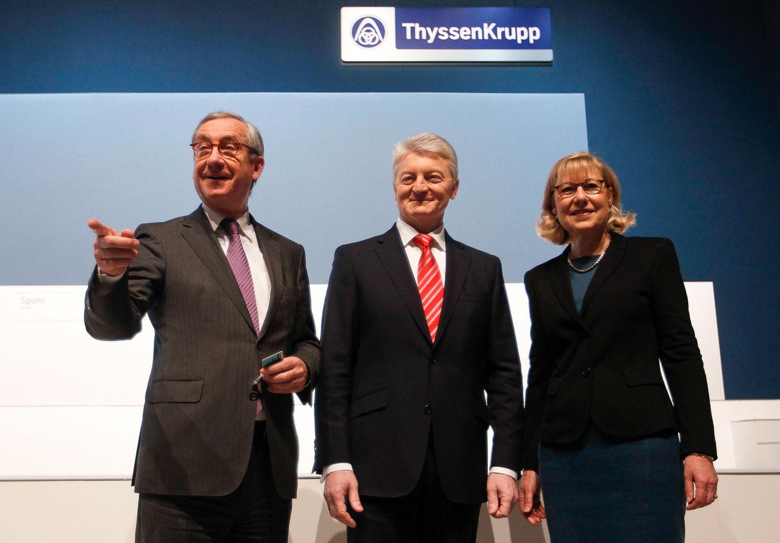 HV ThyssenKrupp / Vorstand