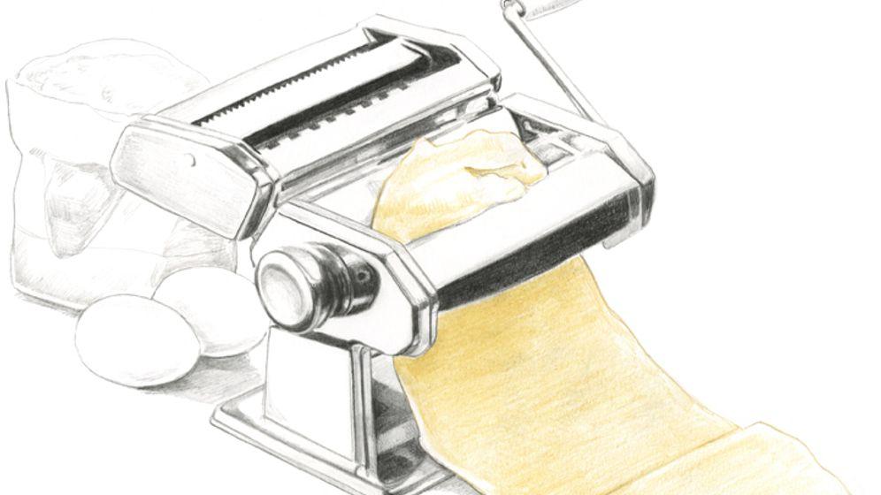 Küchengeräte: Der Maschinenpark für perfekte Pasta