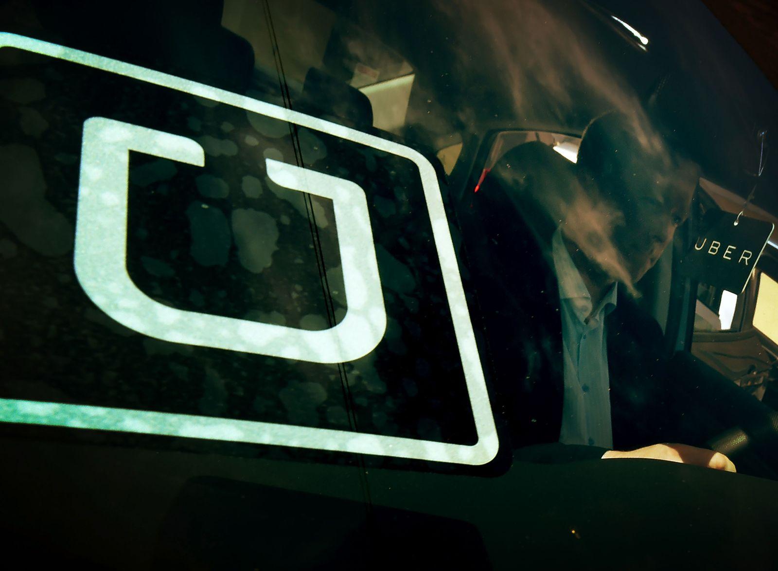 Uber-Wagen Los Angeles
