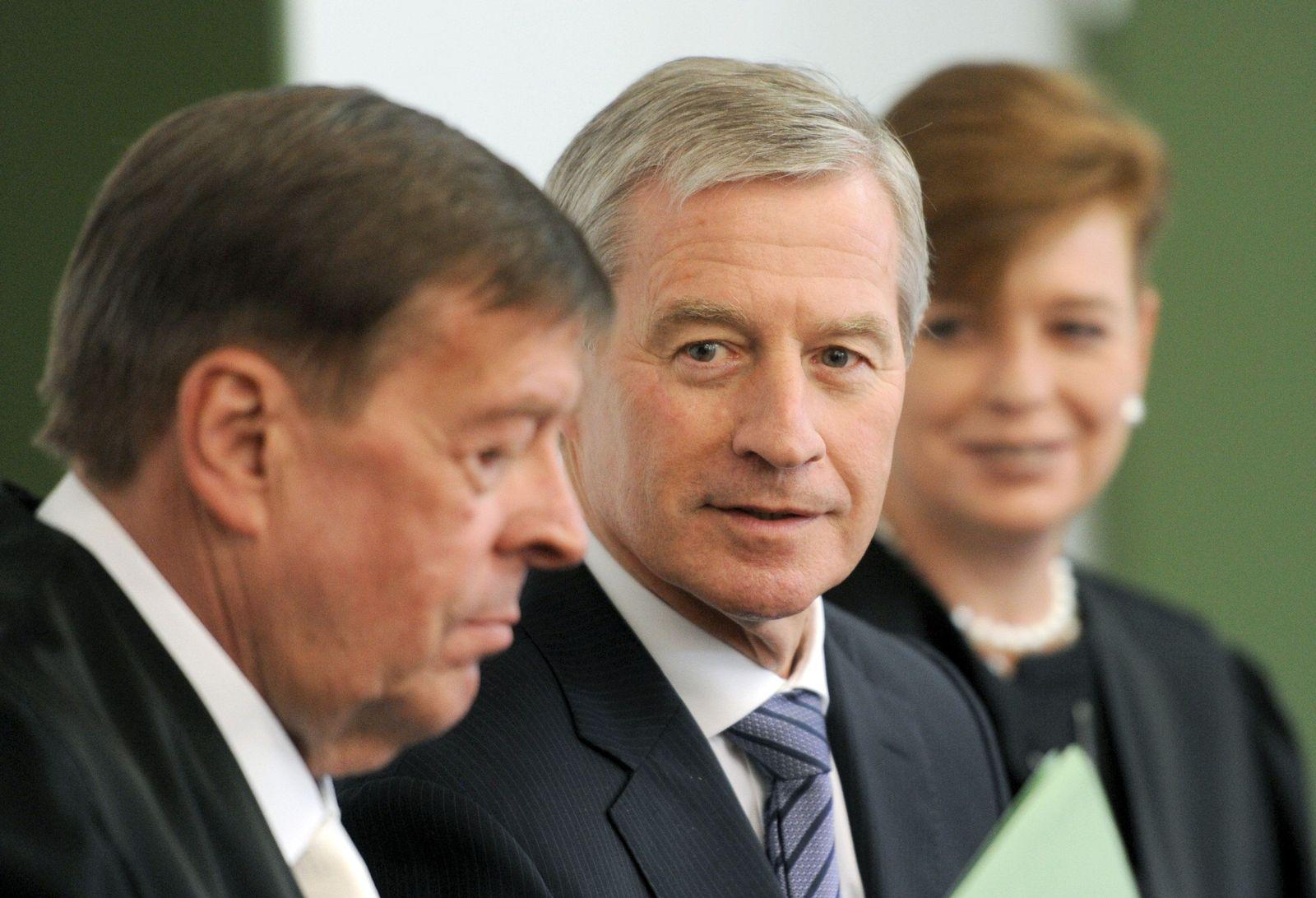 Strafprozess gegen Top-Manager der Deutschen Bank Fitschen