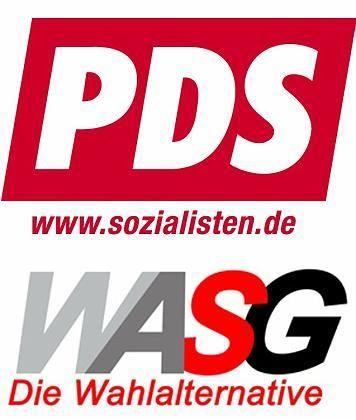 PDS und WASG: Gemeinsam in den Wahlkampf