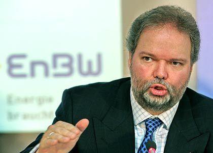 Erfolgreich: Claassen bei der EnBW-Bilanz-Pressekonferenz im Februar