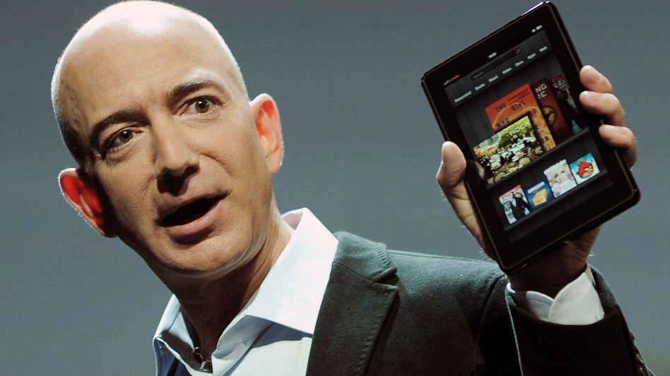 """Jeff Bezos: """"Galapagos: fünf Sterne. Nierensteine: null Sterne"""""""