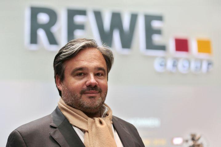 """""""Müssen uns warm anziehen"""": Rewe-Chef Alain Caparros"""