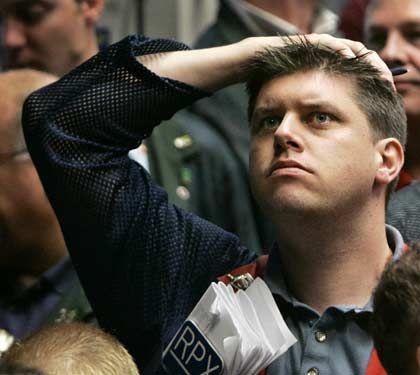 Skepsis: Auch an der Börse in Chicago wurden die jüngsten Konjunkturdaten mit Abschlägen quittiert