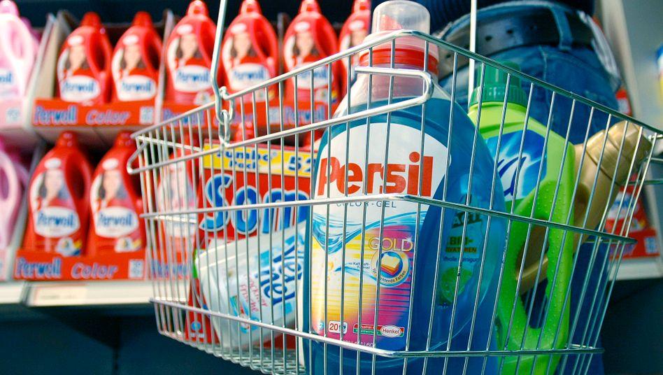 In vielen Einkaufskörben: Henkel verfügt über zahlreiche bekannte Marken