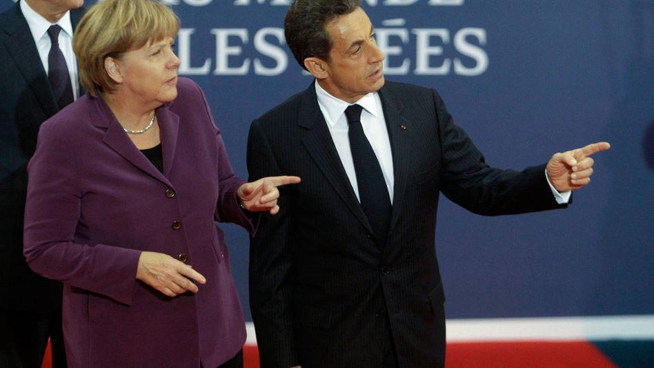 Merkel und Sarkozy in Cannes: Im Bann der Schuldenkrise