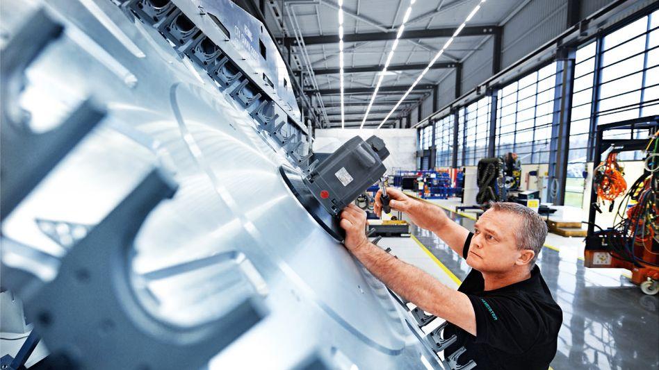 Gute Auftragslage: Die deutsche Wirtschaft wächst schneller als ihr langfristiges Potenzial