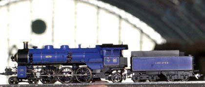 Königlich en miniature: Lokomotive der Reihe S 3/6 der Königlich Bayerischen Staatsbahnen im Maßstab 1:87