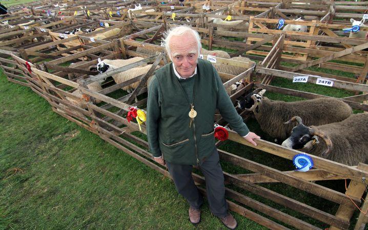 Schafzüchter Walter Brown: Oh dear