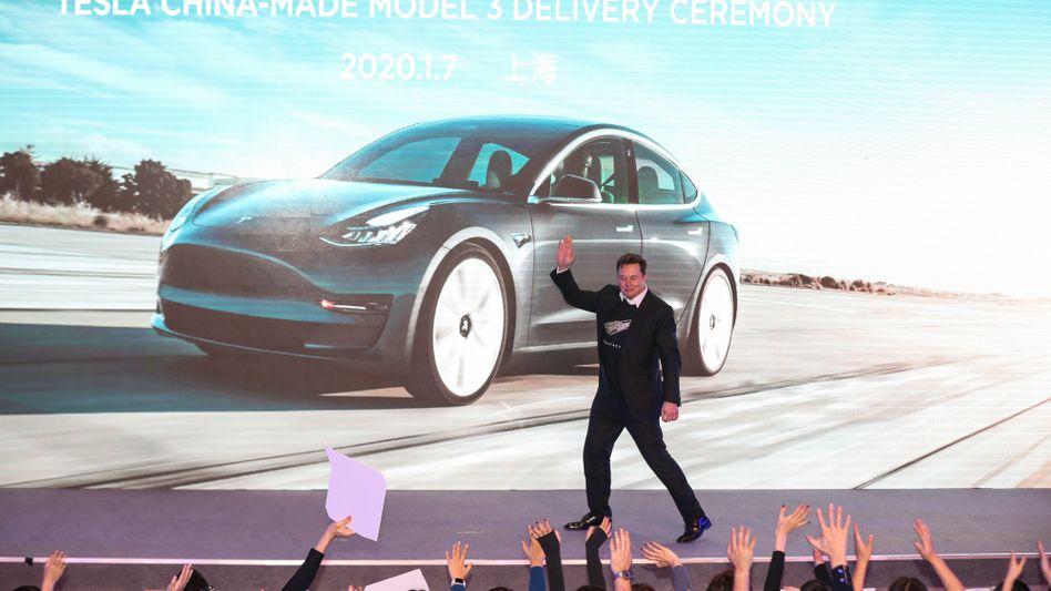 Tesla-Chef Elon Musk: Durchbruch zum Massenhersteller geschafft