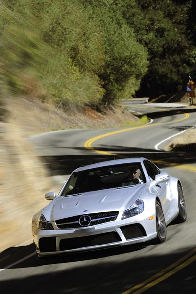 Der wilde Mercedes: Haustuner AMG lässt es beim SL 65 AMG richtig krachen