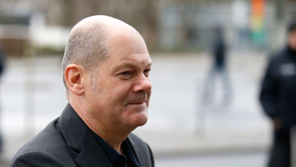 Weniger Steuern: Finanzminister Olaf Scholz (SPD)