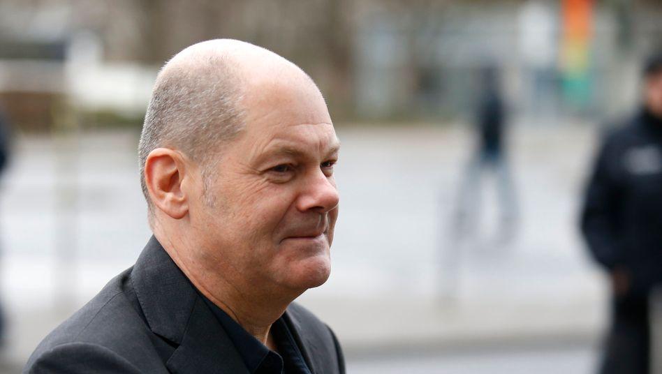 Loch in der Kasse: Finanzminister Olaf Scholz