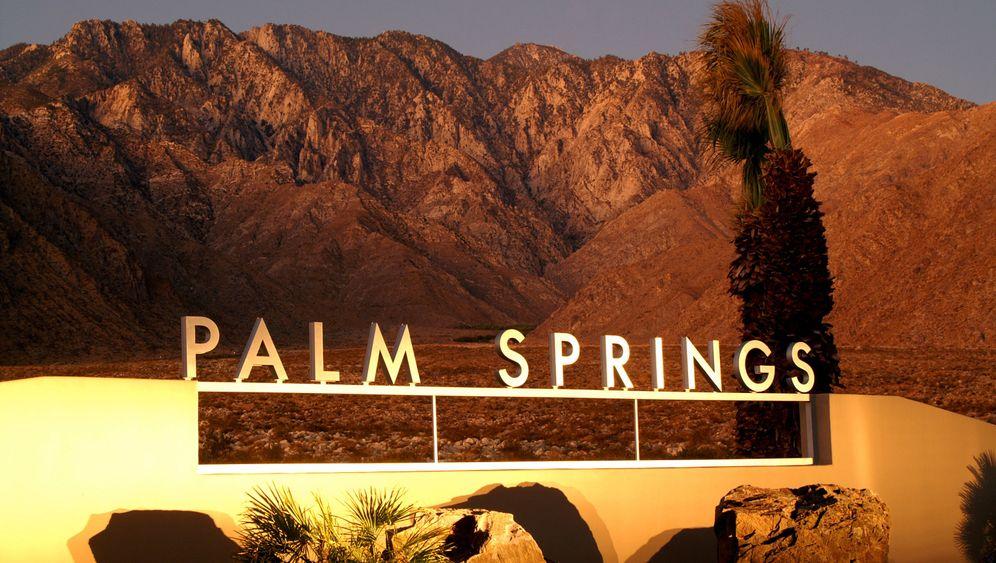 Wüstenoase: In Palm Springs fühlten sich die Hollywoodstars wohl