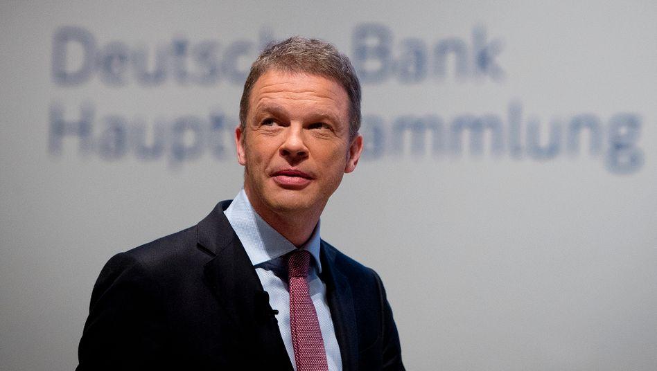 """15 Milliarden Verlust in fünf Jahren: - und dennoch: """"Sie erleben mich zufrieden und positiv gestimmt"""", Christian Sewing, Chef der Deutschen Bank"""