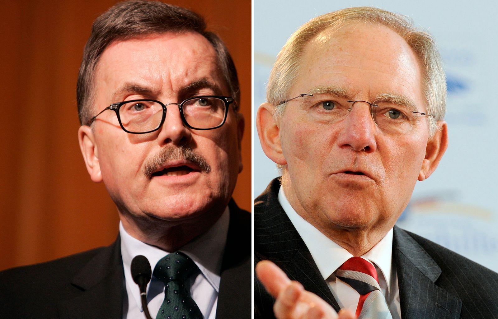 KOMBO Jürgen Stark und Wolfgang Schäuble
