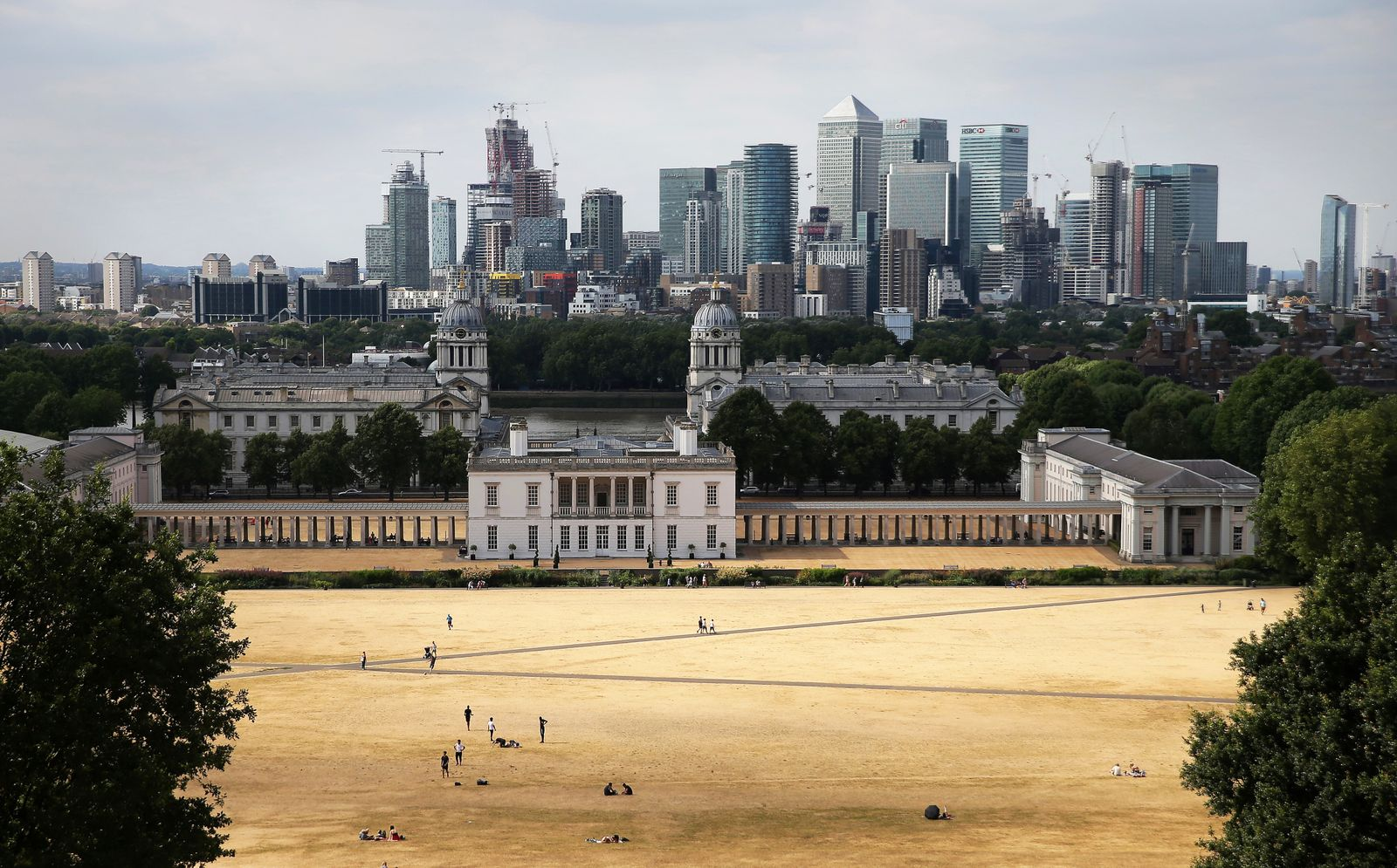 London Banken / Konjunktur / Banken-Viertel / Wirtschaft / England / Finanzzentrum Passanten