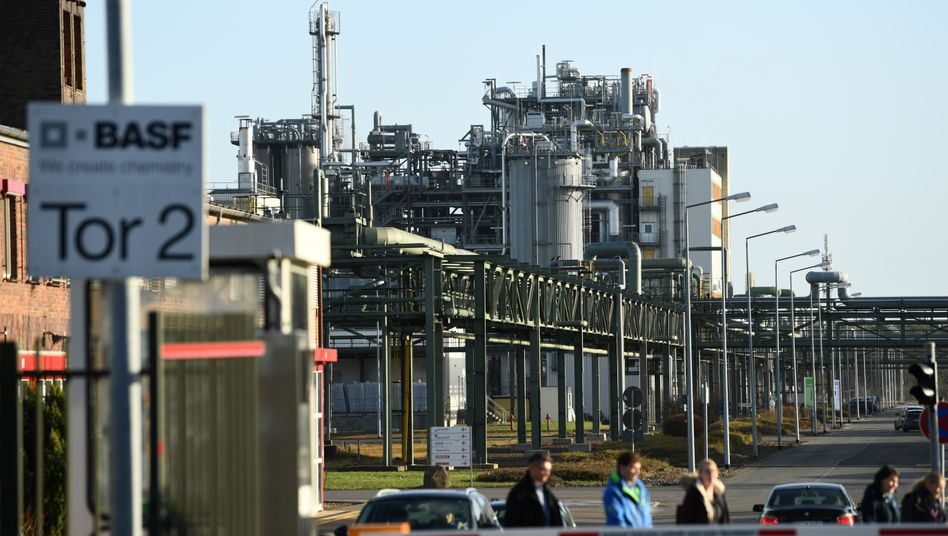 Schwarzheide in der Lausitz: Tatsächlich betreibt BASF hier bereits eine Produktion mit rund 2000 Beschäftigten. Jetzt soll hier auch eine Fabrik für Batteriematerialien entstehen