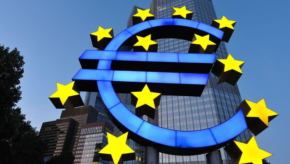 EZB in Frankfurt: Sobald die Zentralbanken die Zinsen erhöhen, drohen am Anleihemarkt Verluste