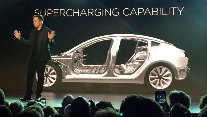 Elektroautos für den Massenmarkt: Tesla-Fighter: So rüstet die Autobranche gegen das Model 3
