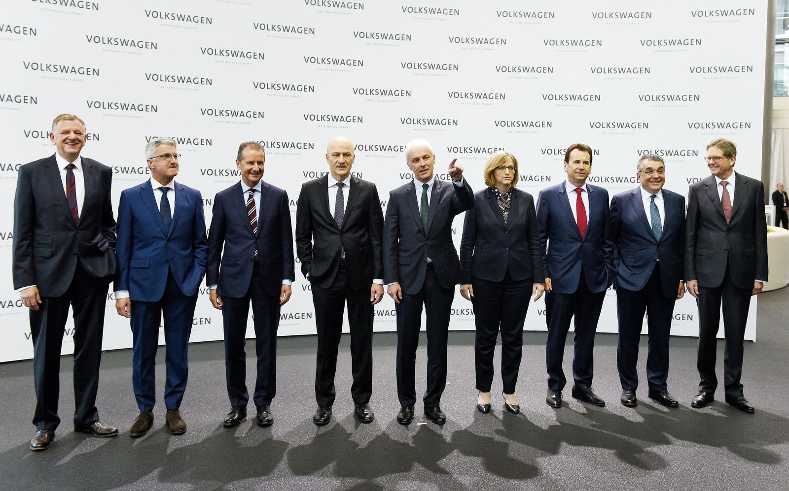 Volkswagen Jahrespressekonferenz