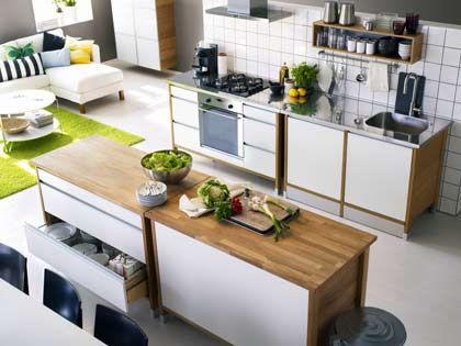 Neue Gemütlichkeit: Küche und Wohnzimmer wachsen immer mehr zusammen