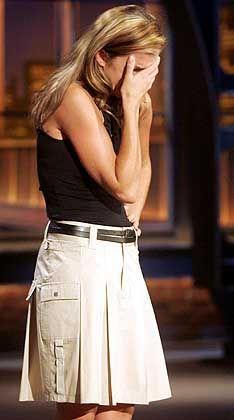Debüt-Fieber: Anke Engelke gab sich zu Beginn ihrer ersten Late-Night-Show noch angespannt und müde