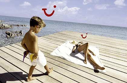 Hoffen auf den Sommer: Die Buchungsumsätze bei Tui liegen deutlich im Plus