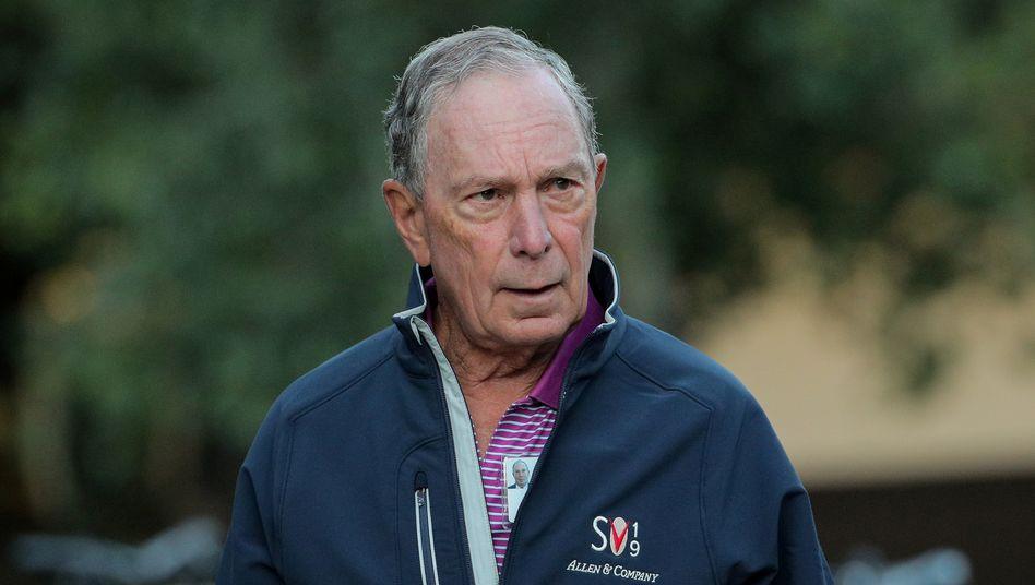 Medienunternehmer, Philanthrop und womöglich bald US-Präsident: Multimilliardär Michael Bloomberg will ins Weiße Haus.