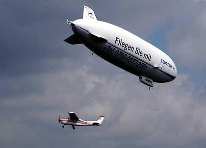 Nach dem großen Scheitern ein neuer Versuch: Zeppelin-Visionen in Neuhardenberg