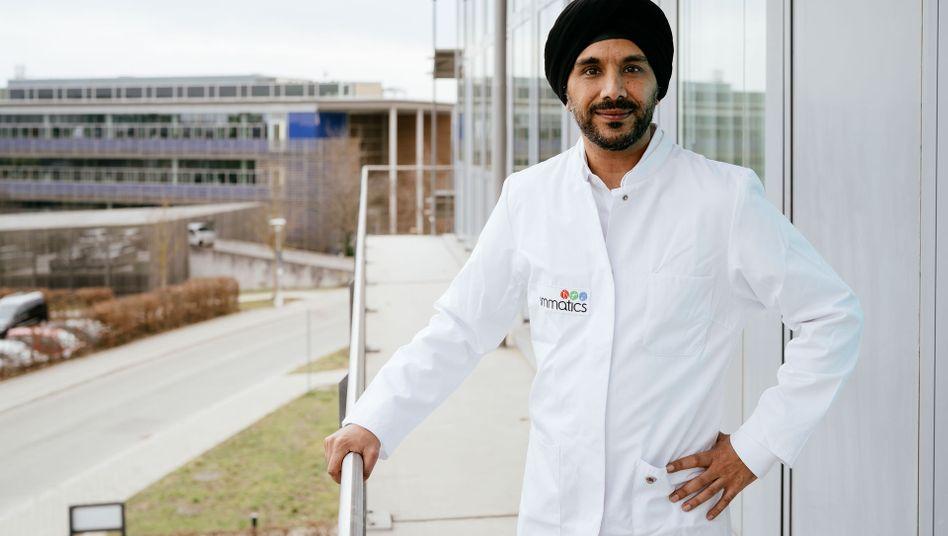 """Immatics-Chef Harpreet Singh: """"Erfreuliche Ergebnisse"""""""