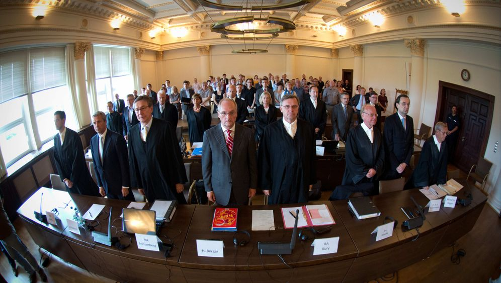 HSH-Prozess: Banker auf der Anklagebank
