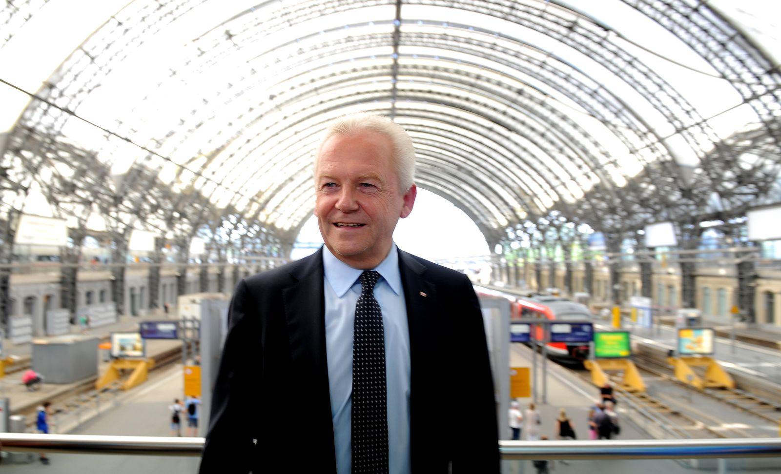 Rüdiger Grube / Dresdner Hauptbahnhof