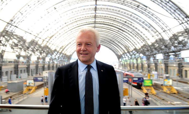 Bahn-Chef Rüdiger Grube will in Kürze selbst nach Russland reisen