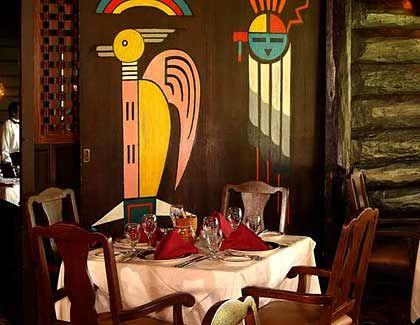 El Tovar Lodge: Dinner im Salon