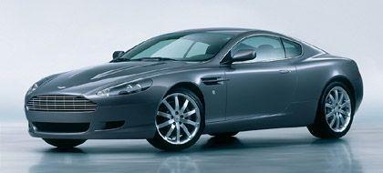 457 PS elegant verhüllt:Der Aston Martin DB9